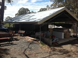 Shed 22m x 6.6m x 2.4m - fully disassembled - galvanised Pheasants Nest Wollondilly Area Preview
