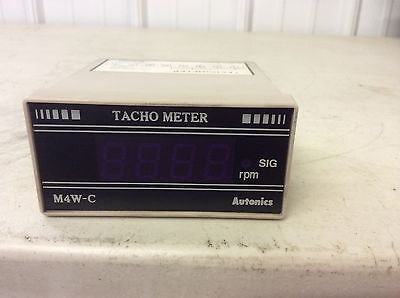 Autonics M4w-c Tacho Meter 100 - 240 Vac M4wc