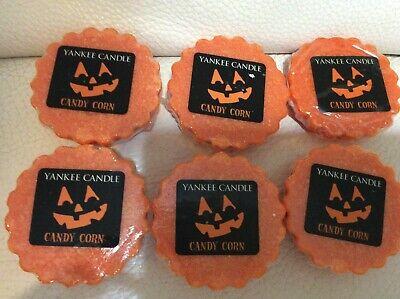 Orange Candy Melts (Yankee Candle Six (6) Candy Corn Tarts New! Orange Autumn Wax Melts)