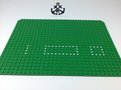 Lego Vintage 1970s Green Baseplate 24 x 32 with Set 354/560 Dots Pattern 10p02