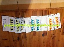 "250 pcs Kebab Bags - Printed ""Tasty Doner Kebab"" Ingleburn Campbelltown Area Preview"