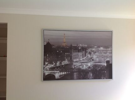 Large ikea prints gumtree australia free local classifieds framed paris print from ikea gumiabroncs Gallery