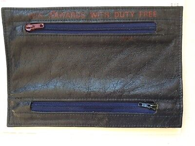 American Airlines Flight Attendant Duty Free Foreign Currancy Coin Purse