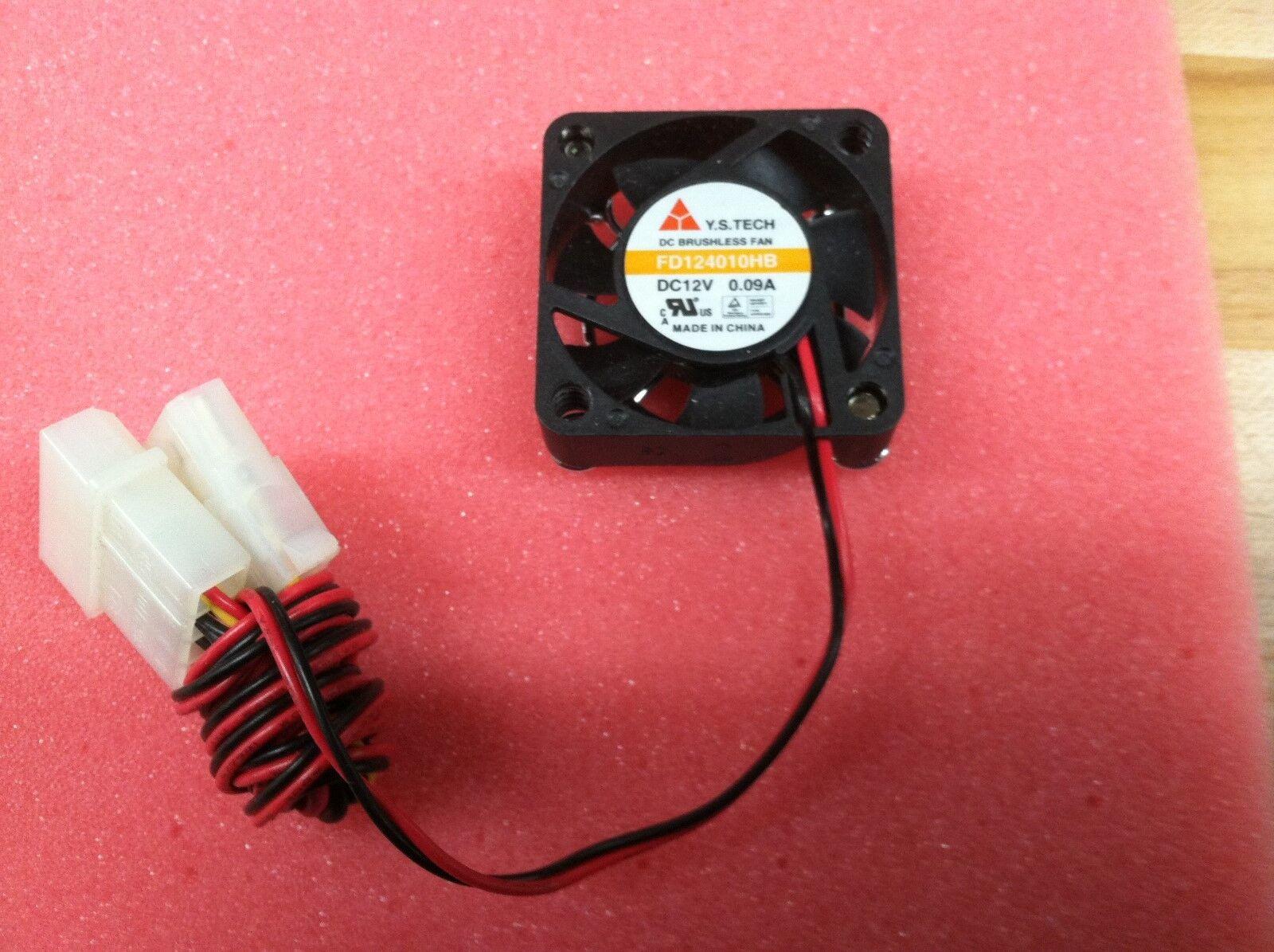 1pc Y.S FD124010HB fan  40*40*10mm  12V 0.09A 3pin