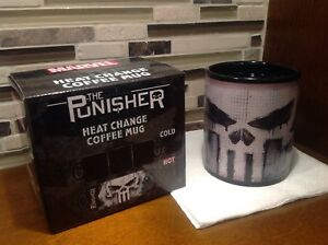 Marvel Punisher Heat Exchange Mug