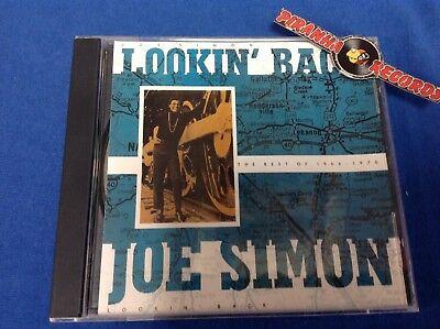 Joe Simon Best of Lookin' Back CD USED Soul R&B 1988 Ripete Piranha