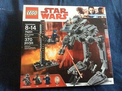 LEGO STAR WARS 75201 First Order AT-ST Retired NEW NISB Captain Phasma FREE SHIP