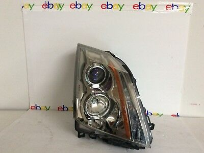 CADILLAC CTS RIGHT SIDE 2008 - 2014 HEADLIGHT ASSEMBLY GM 22783445 SUPER CLEAN