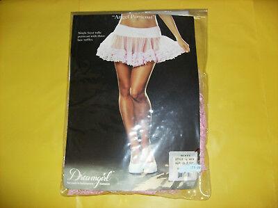 DREAMGIRL ANGEL PETTICOAT SKIRT PINK WOMEN HALLOWEEN COSTUME ONE - Pink Angel Costume