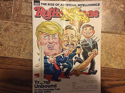 Rolling Stone Magazine March 2016 Donald Trump Issue