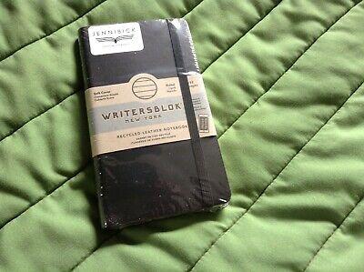 Kikkerland Writersblok New York Pocket Leather Notebook Lined