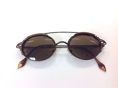 Deco The Art Of Eyewear vintage Eyeglasses Clip On Sunglasses Deco 5 Copper