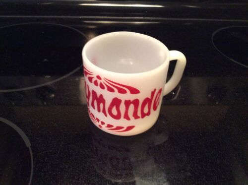 FEDERAL MILK GLASS MUG PERSONALISED RAYMONDE
