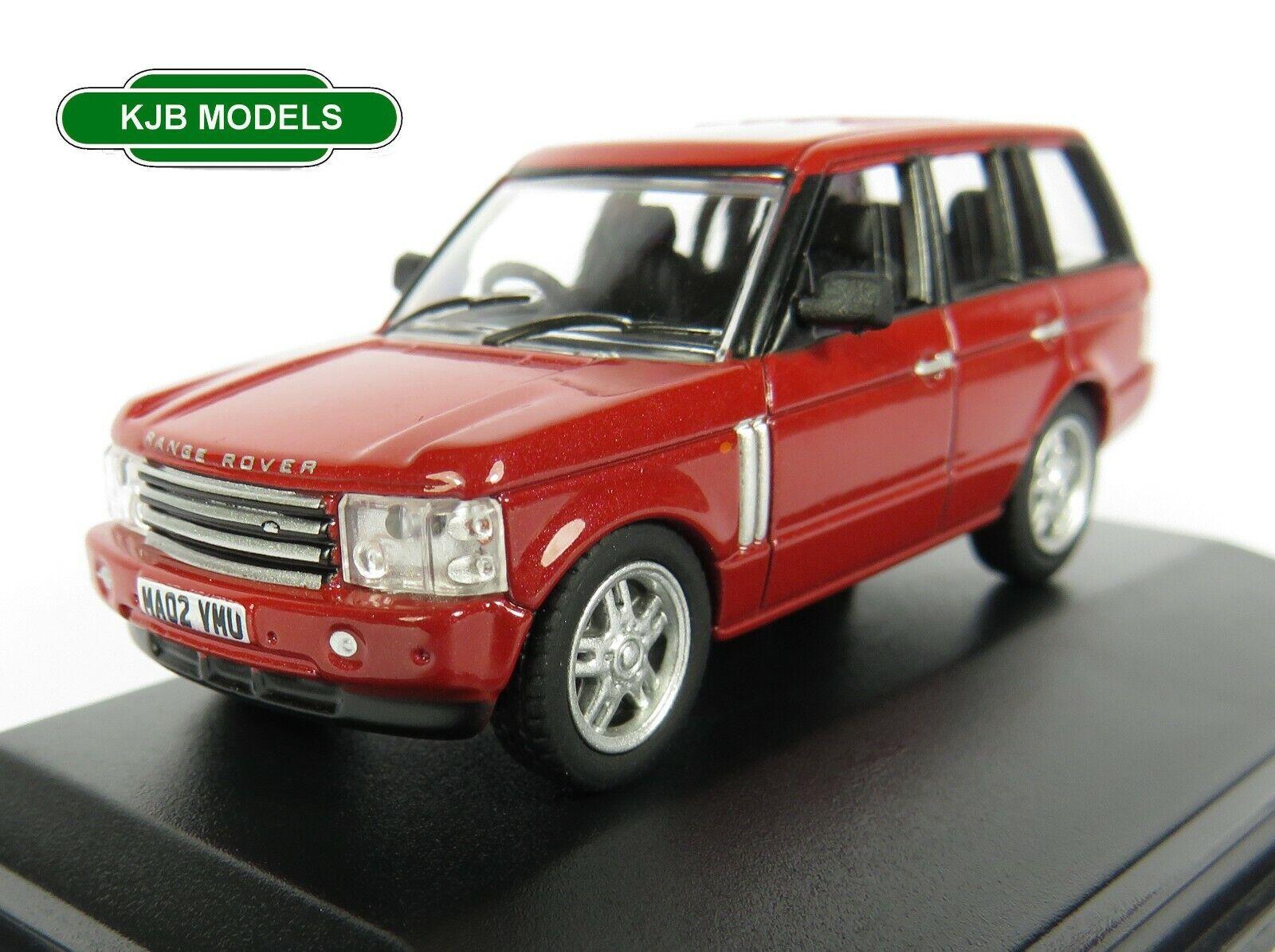 BNIB OO GAUGE OXFORD 1:76 76RR3002 Range Rover 3rd Generation Alveston Red