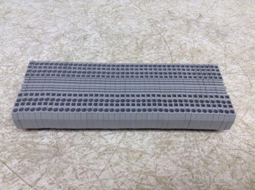 Wago 280 Gray Grey Wiring Terminal Block Din Rail 2.5 mm 2 Lot of 40