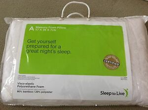 Memory foam pillow brand new Waverley Eastern Suburbs Preview