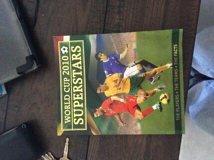 Soccer Fifa World Cup 2010 football superstars soccer memorabilia book Highbury Tea Tree Gully Area Preview