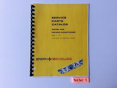 New Holland 489 Mower Conditioner 7-79 Service Parts Catalog