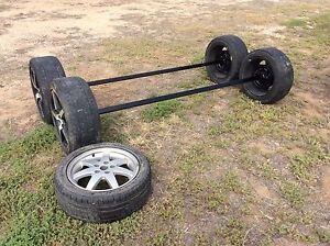 Tandem Trailer Axles and springs heavy duty 2800kg rated Tumby Bay Tumby Bay Area Preview