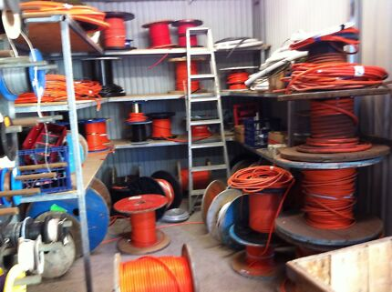 SCRAP METAL ON SITE SERVICE SCRAP METAL WE BUY ELECTRICAL CABLE Tempe Marrickville Area Preview