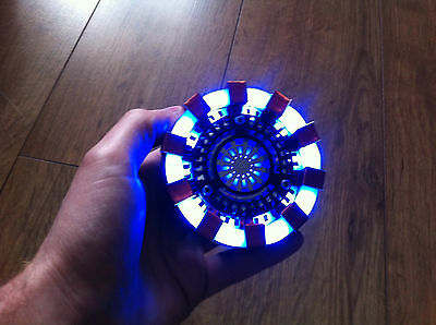 ARC REACTOR MK1 Replica Costume Prop IRON MAN HEART Tony Stark Cosplay