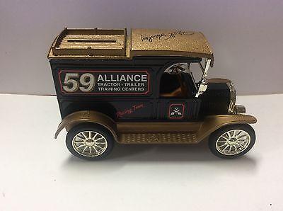 Ertl 1913 Model T Delivery Truck Robert Pressley Alliance Racing Bank