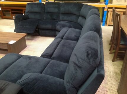 Fraser plush sofa bed chaise lounge with recliner Joondalup Joondalup Area Preview