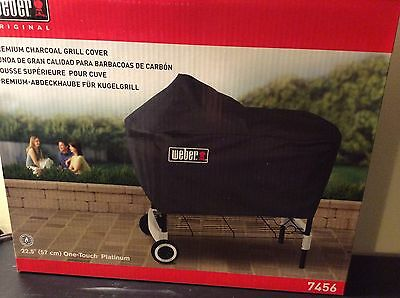Weber Premium Charcoal Grill Cover Fits One ...