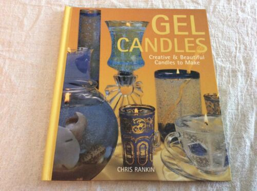 Gel Candles Creative Beautiful To Make Hardcover Book Projects Instructions