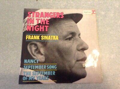 """ARB3""Disque vinyle 45 tours /frank sinatra, strangers in the night"