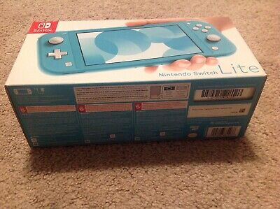 Nintendo Switch Lite 32GB Handheld Video Game Console Brand New color (turquois)