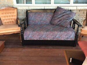 Sofa et chaise queen ann