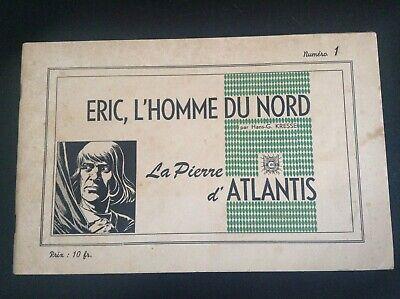 Lot de 3 albums brochés Eric l'homme du nord N° 1 à 4 BON ETAT