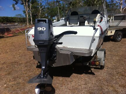 17 Foot SEAFARER V-sea ready to go  Belgian Gardens Townsville City Preview