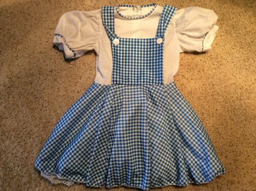 Dorthy from The Wizard of OZ quality costume dress excellent condition  sz 8/10