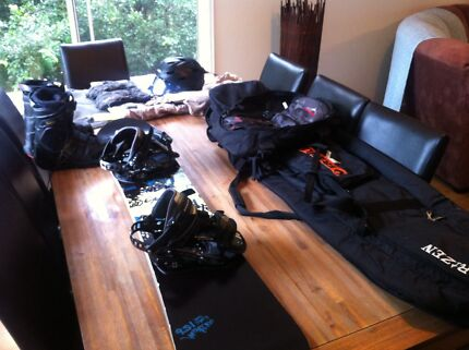 Full snowboard setup, board boots bags cloths and more Stanthorpe Southern Downs Preview