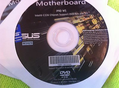 Asus Dvd Support Driver Utility For Asus P9d Ws   Original
