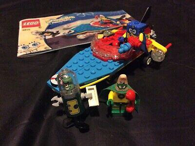 LEGO SpongeBob Heroic Heroes of The Deep 3815 Complete w/ Manual Mini Figures