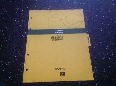 John Deere 1600 Series Chisel Plow Parts Catalog -