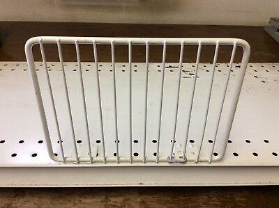 Gondola Shelf Fence Divider 6 X 8 White 20 Pcs