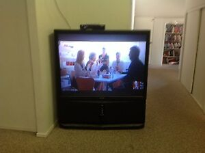 Sony rear projection tv with pvr set top box Mudgeeraba Gold Coast South Preview