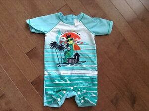 Baby boy swimsuit size 6 months from Souris Mini