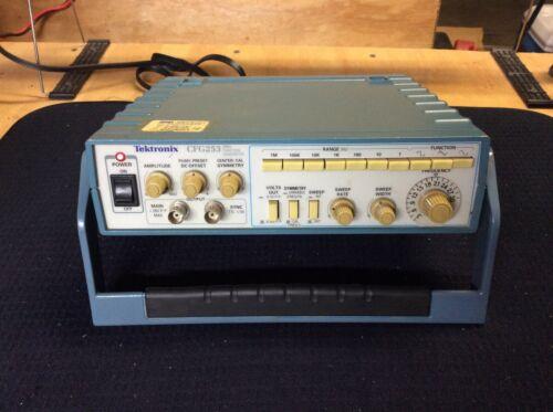 Tektronix CFG253 3MHz Function Generator. Not Tested.