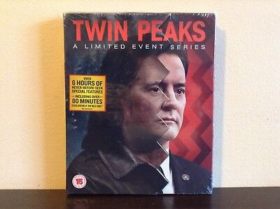 Twin Peaks: A Limited Event Series (Slipcase Version) [Blu-ray] *BRAND NEW*