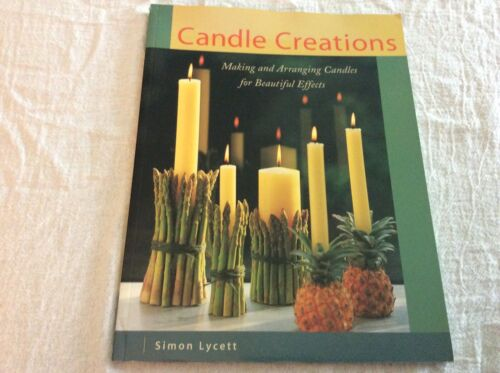 Candle Creations Making Arranging Candles and Holders Book Projects Instruction