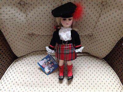 """Scotland Doll-Effanbee-1983-Mint no box-10"""" tall"""