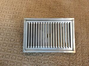 "10"" Flush Mount Drip Tray with Drain"