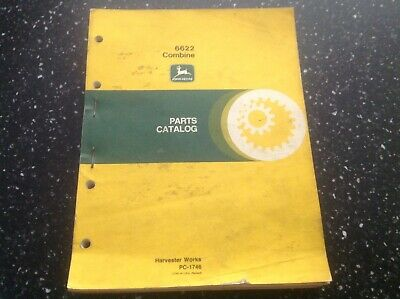 John Deere 6622 Combine Parts Catalog Pc-1746