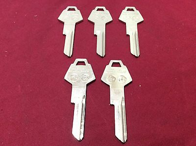 Chrysler By Ilco Y152 Key Blanks Set Of 5- Locksmith