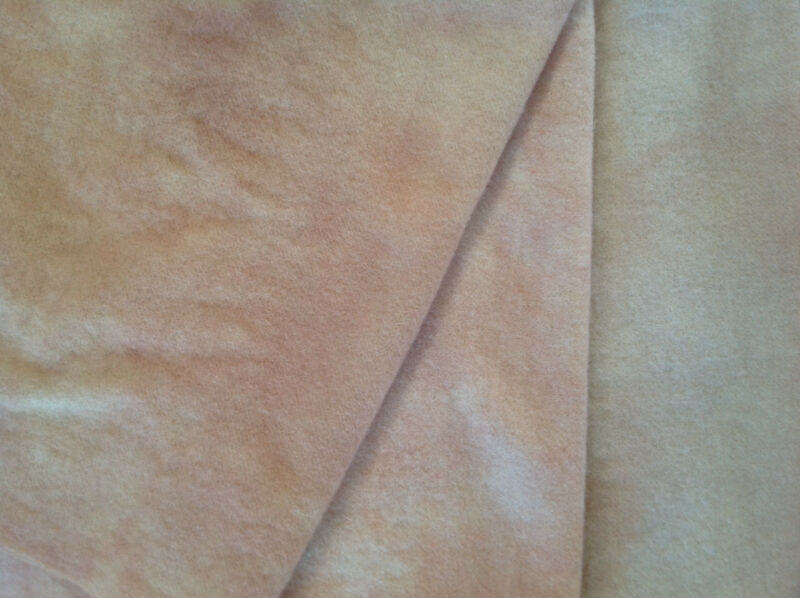 """Dyed Wool for Hooking, Applique & More """"Flesh Tones"""" 3-value pack"""